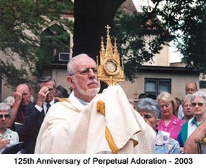 125th anniversary of Perpetual Adoration