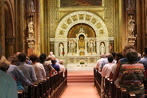 135th anniversary of perpetual adoration celebration