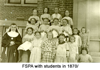 FSPA with class in 1870s