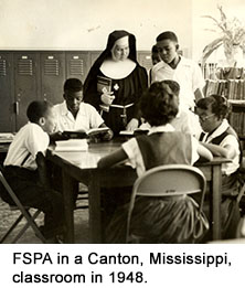 FSPA in Canton, Mississippi, classroom