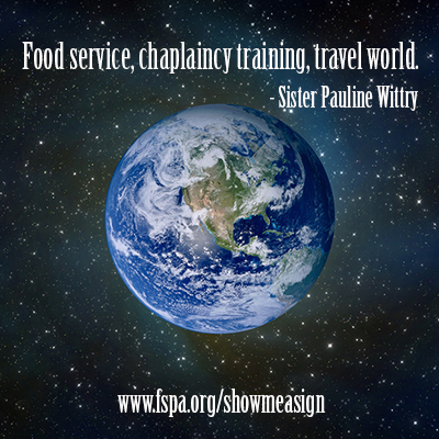 food-service-chaplaincy-training-travel-world-Pauliine-Wittry-Show-Me-a-Sign