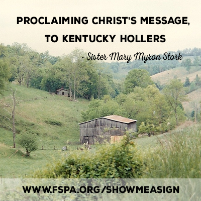 proclaiming-Christ's-message-Kentucky-Hollers-Mary-Myron-Stork