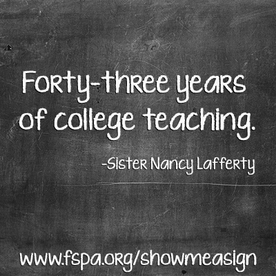 fourty-three-years-college-teaching-sister-Nancy-Lafferty