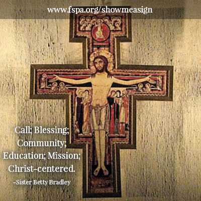 call, blessing, community, education, mission, Christ-centered, Sister Betty Bradley