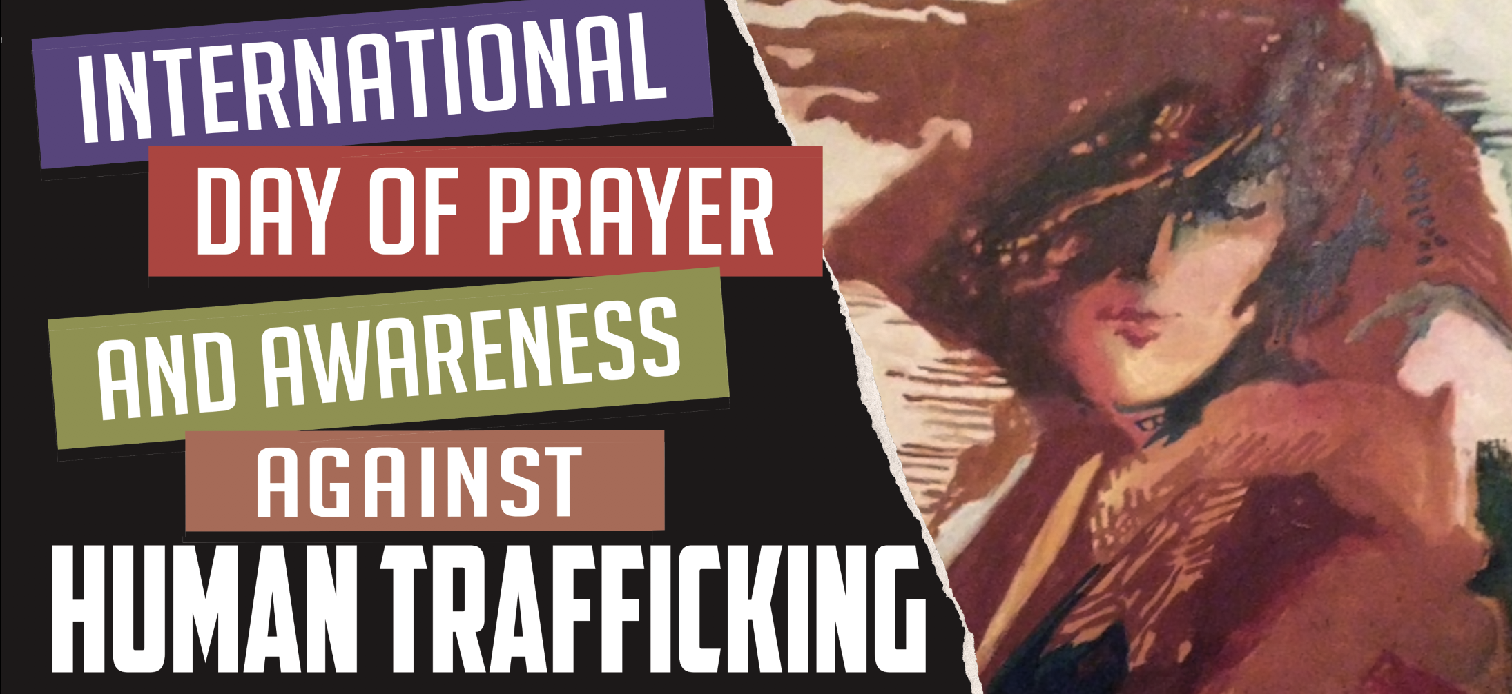 International Day of Prayer for Human Trafficking artwork