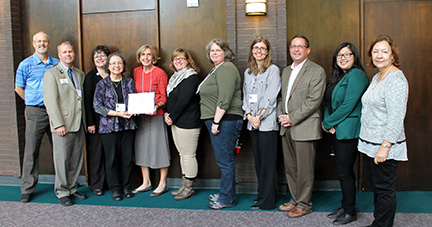 FSC staff - Christian Mission Award winners