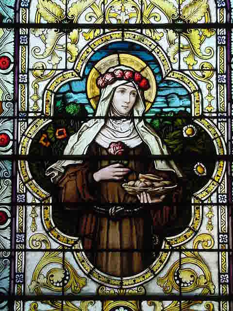 Rose of Viterbo window