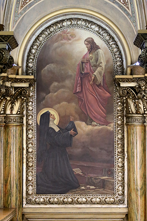 Apparition of Jesus to St. Margaret Mary