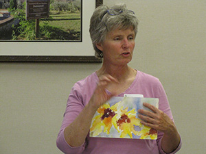 Mary Louise Thompson guides Art as Prayer