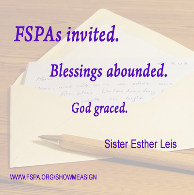 Sister-Esther-Leis-FSPA-invited-blessings-abounded-God-graced