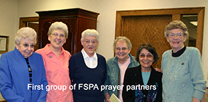 First prayer partners welcomed in 1997