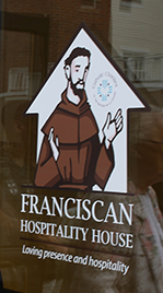 Franciscan Hospitality House entrance