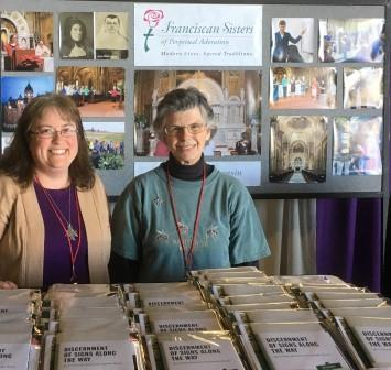 Sisters-Amy-Taylor-and-Kathy-Roberg-at-Los-Angeles-Religious-Ed-Congress