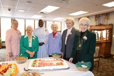 Franciscan Sisters of Perpetual Adoration joined by Sister Sarah Nakyesa celebrate jubilee