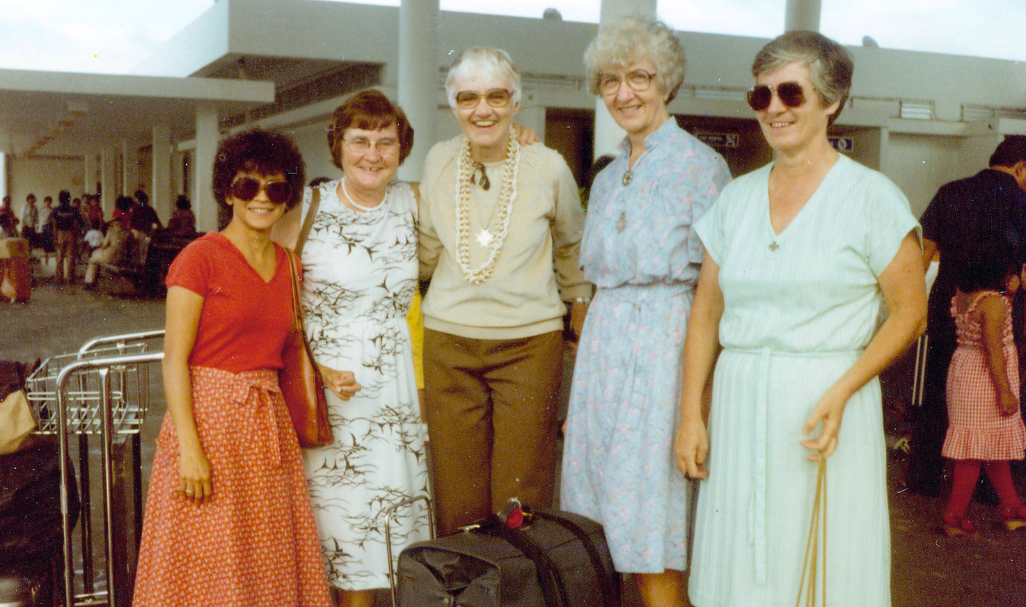 FSPa at Guam airport in 1979