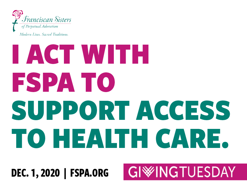 I act with FSPA to support access to health care