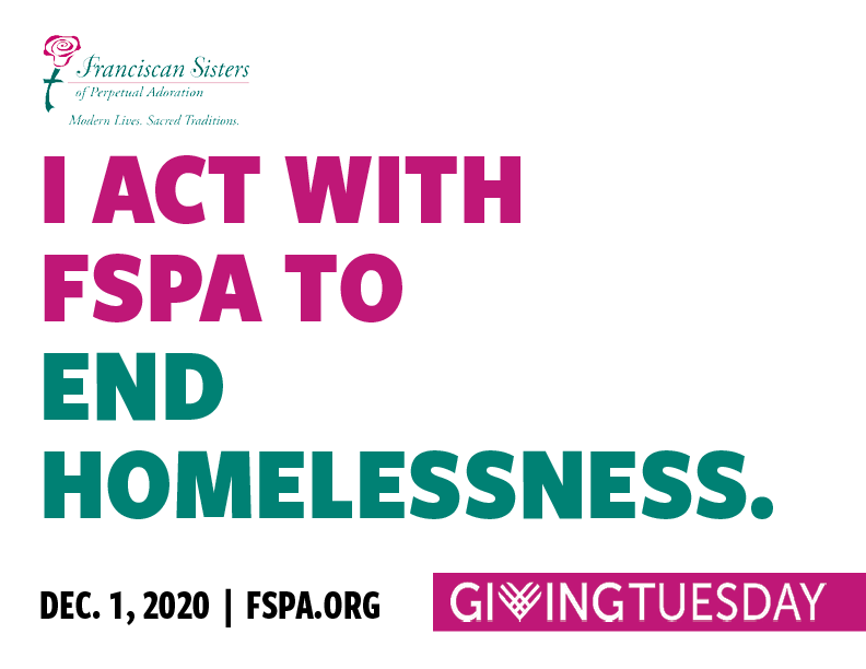 I act with FSPA to end homelessness.