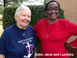 Sister Janet and Lueretha