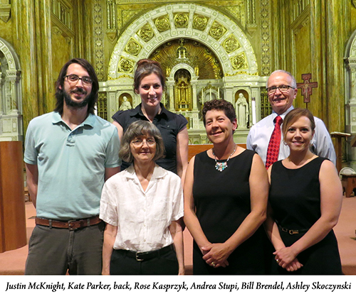 New affiliates in Mary of the Angels Chapel