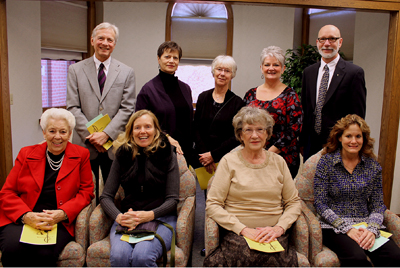 Prayer partners commissioned in November 2013