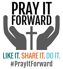 pray it forward logo